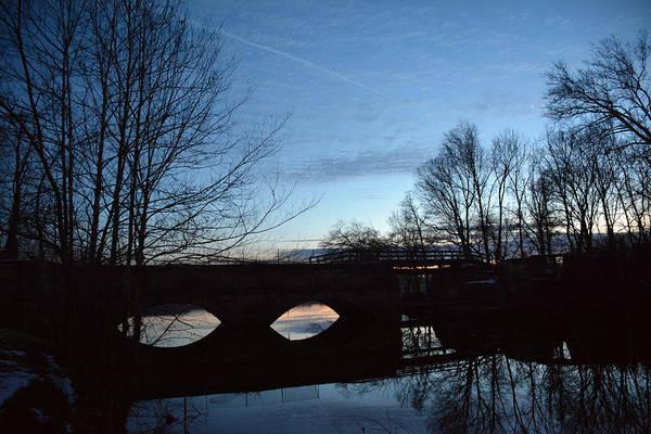 Twilight On The Potomac River Art Print by Bill Helman