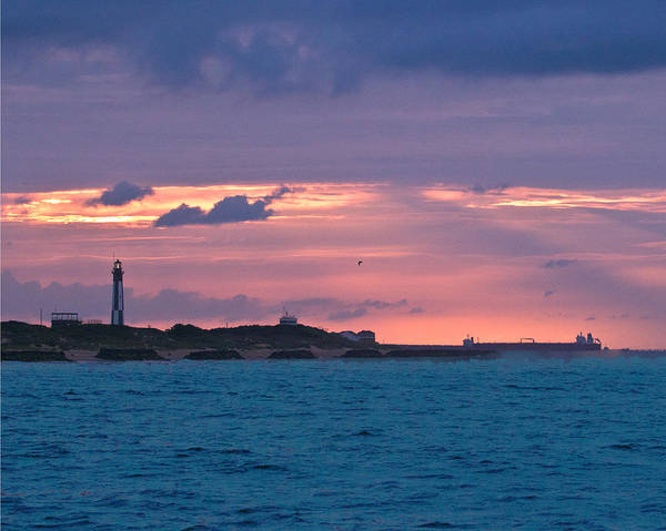 Photograph - Twilight Over Cape Henry by Pete Federico