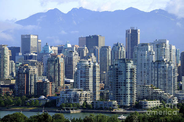 Photograph - Twilight Over Vancouver by Brenda Kean