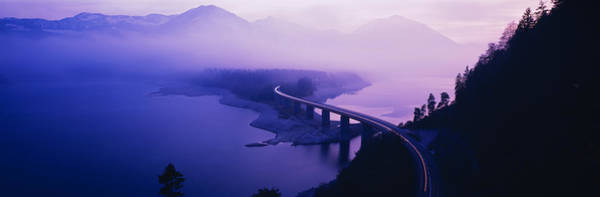 Envelop Wall Art - Photograph - Twilight Road Germany by Panoramic Images