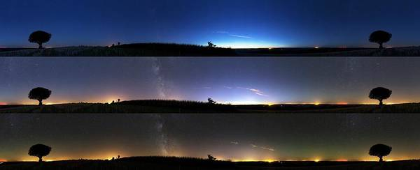 Astronomical Twilight Photograph - Twilight Sequence by Laurent Laveder
