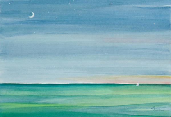 Painting - Twilight Time by Michelle Constantine