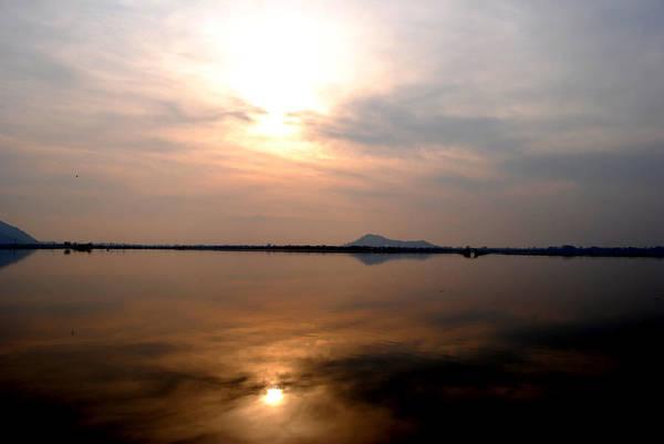 Dal Lake Photograph - Twilight View Of Dal Lake- Kashmir- India- Viator's Agonism by Vijinder Singh