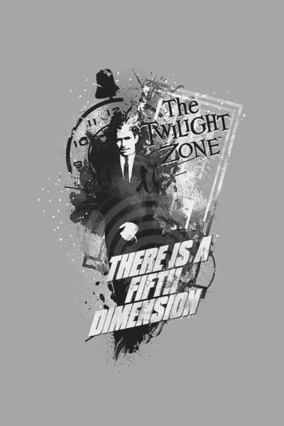 Dimensions Digital Art - Twilight Zone - Fifth Dimension by Brand A
