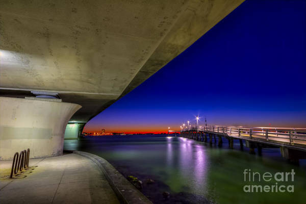 Low Tides Photograph - Twilight Zone by Marvin Spates