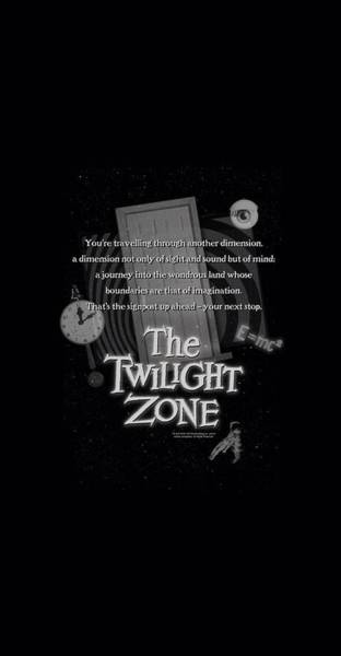 Dimensions Digital Art - Twilight Zone - Monologue by Brand A