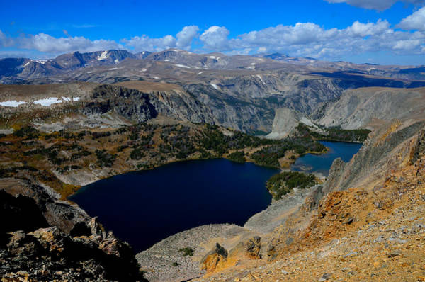 Photograph - Twin Lakes And The Beartooth Mountains by Tranquil Light  Photography