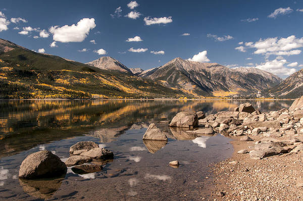 Photograph - Twin Lakes by Lee Kirchhevel