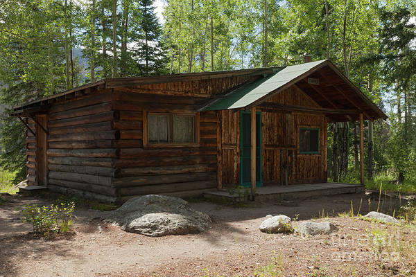 Photograph - Twin No. 2 Cabin At The Holzwarth Historic Site by Fred Stearns