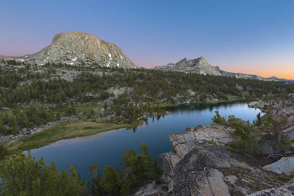 Alpine Meadows Photograph - Twin Peaks by Brian Knott Photography