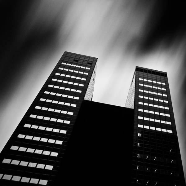 Photograph - Twin Towers by Dave Bowman