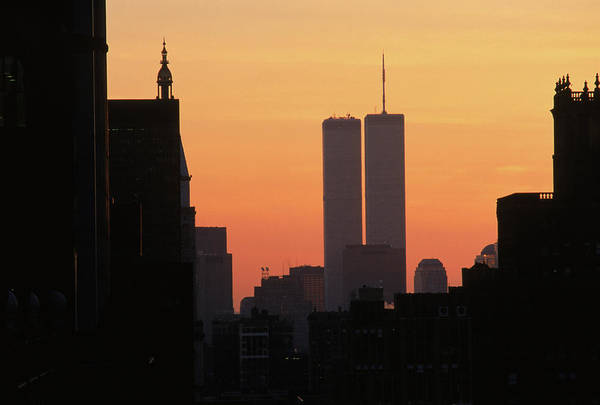 September 11 Attacks Photograph - Twin Towers by Hans Sautter