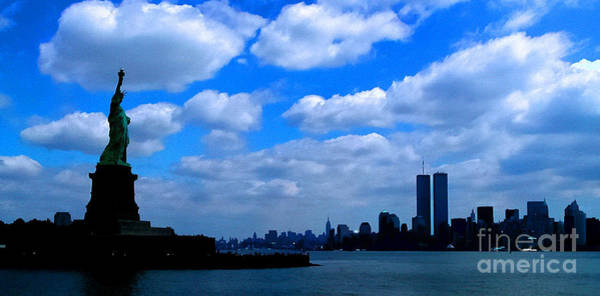 Photograph - Twin Towers In Heaven's Sky - Remembering 9/11 by Tap On Photo