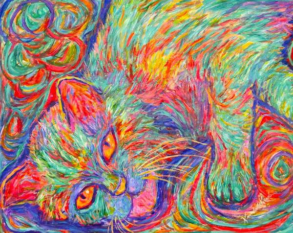 Painting - Twine Dreams by Kendall Kessler