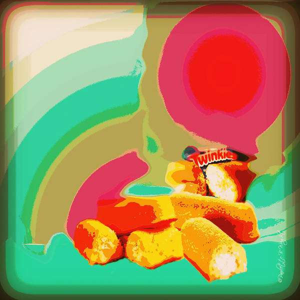 Digital Art - Twinkies by Paulette B Wright