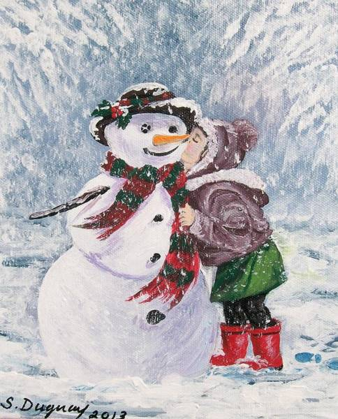 Painting - Twinkle In His Eye by Sharon Duguay