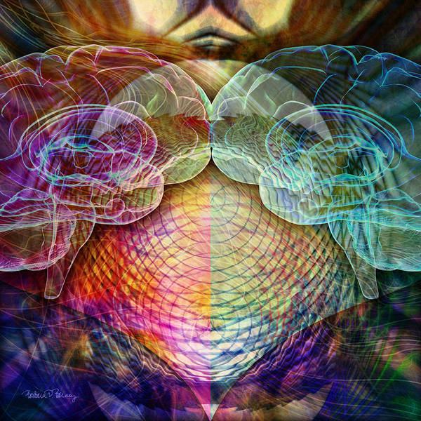 Digital Art - Twins by Barbara Berney