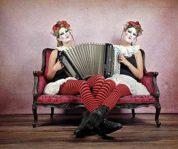 Couch Wall Art - Photograph - Twins by Monika Vanhercke