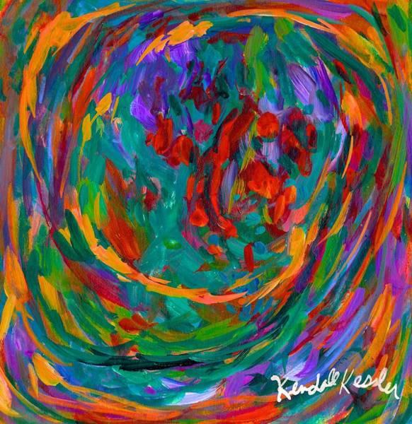 Painting - Twirl by Kendall Kessler