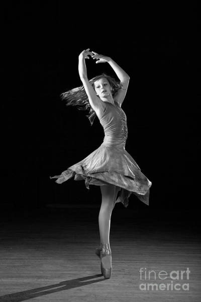 Photograph - Twirling Ballerina by Cindy Singleton