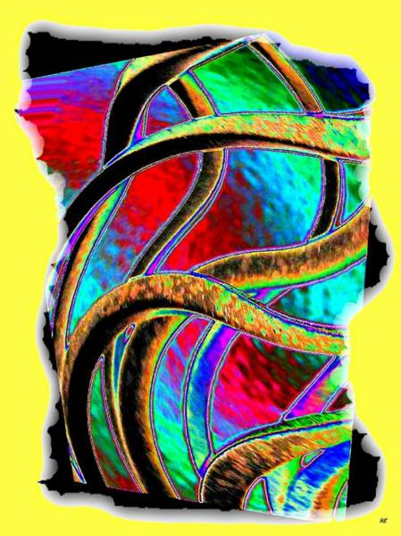 Twisted Digital Art - Twist And Shout 3 by Will Borden