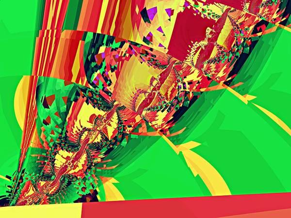 Elation Digital Art - Twist Detail I by Kenneth Keller
