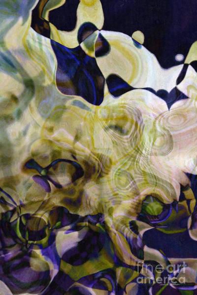Painting - Twist-leaf by Susan Schroeder