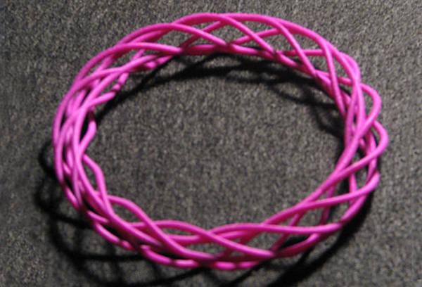 Jewelry - Twisted Bangle A04 by Robert Krawczyk