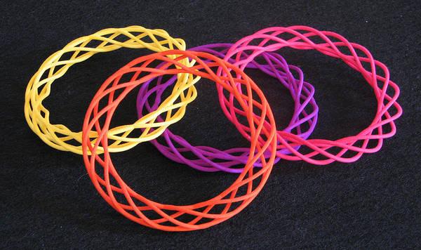 Jewelry - Twisted Bangles A0104 by Robert Krawczyk