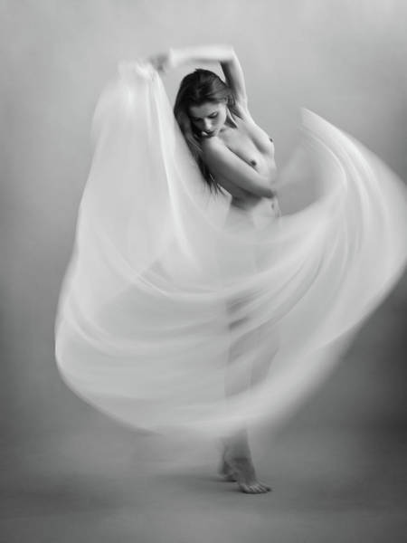 Dancers Wall Art - Photograph - Twisted Fabric by