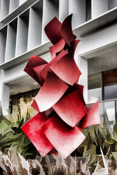 Digital Art - Twisted Squares by Photographic Art by Russel Ray Photos