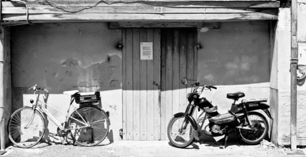 Photograph - Two Bikes by Georgia Fowler