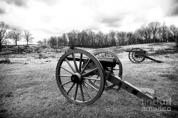 Wall Art - Photograph - Two Cannons by John Rizzuto
