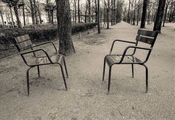 Photograph - Two Chairs by Matthew Pace