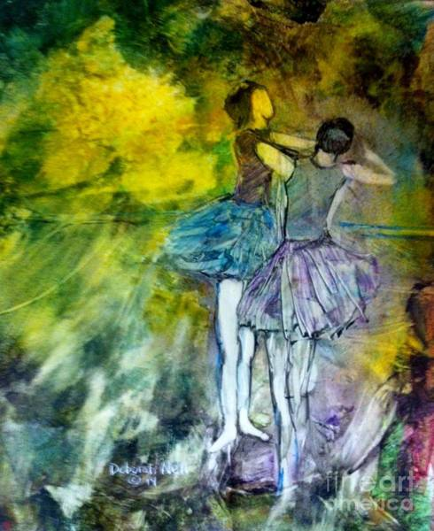 Painting - Two Dancers by Deborah Nell