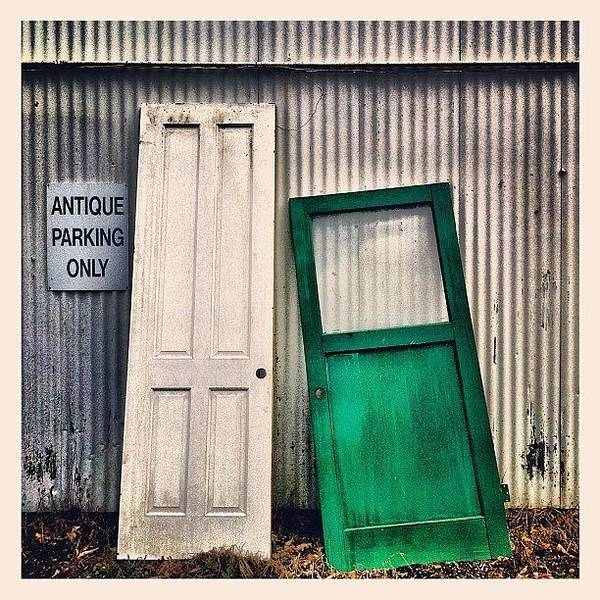 Wall Art - Photograph - Two Doors by Julie Gebhardt