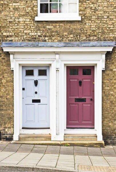 Door Photograph - Two Doors by Tom Gowanlock