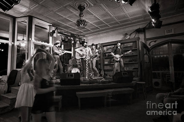 Photograph - Two Girls Dancing At The Purple Fiddle by Dan Friend