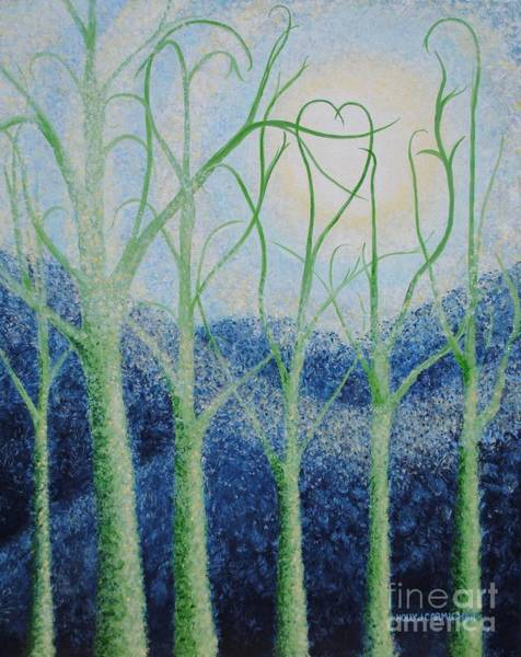 Painting - Two Hearts by Holly Carmichael