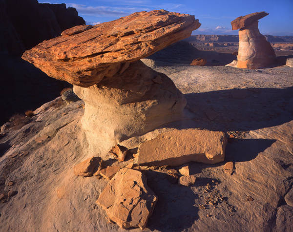 Photograph - Two Hoodoos by Ray Mathis