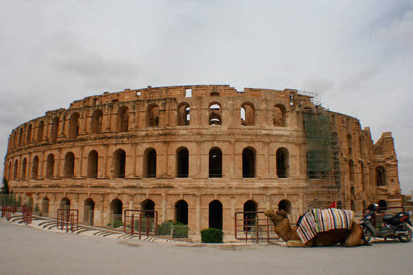 El Jem Photograph - Two Hour Parking by Jon Emery