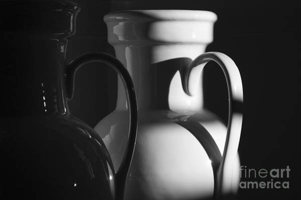 Photograph - Two In Black And White by Terry Rowe