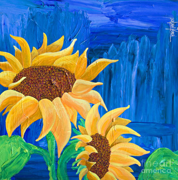 Commodity Painting - Two In The Sun by Tracy L Teeter