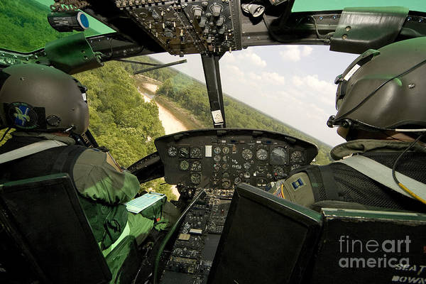 Utility Aircraft Photograph - Two Instructor Pilots Practice Low by Erik Roelofs