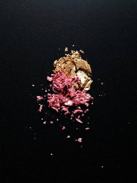 Make Up Photograph - Two Kinds Of Crashed Eye Shadows by Level1studio