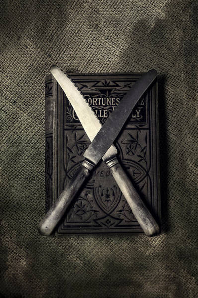 Wall Art - Photograph - Two Knives And A Book by Joana Kruse