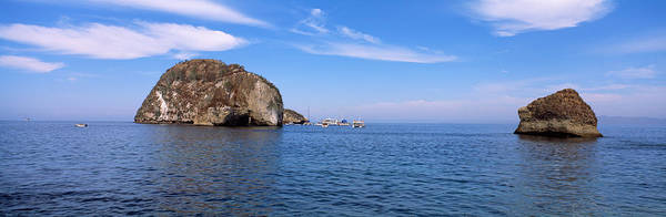Jalisco Photograph - Two Large Rocks In The Ocean, Los by Panoramic Images