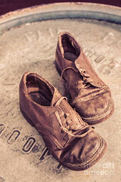 Wall Art - Photograph - Two Old Shoes by Edward Fielding