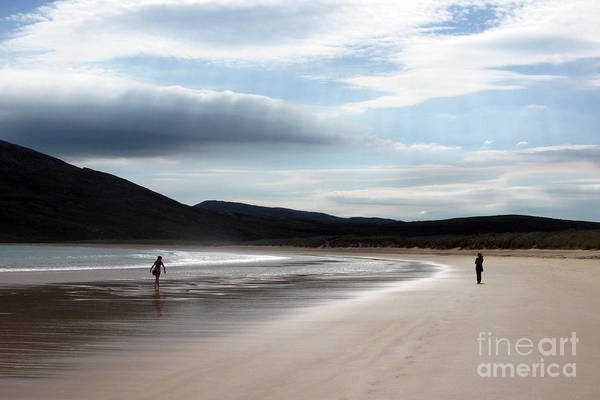 Photograph - Two On A Beach by PJ Boylan