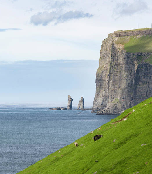 Archipelago Photograph - Two Sea Stacks, Eidi by Martin Zwick